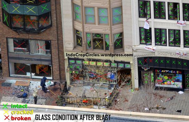 Boston Marathon, April 15, 2013, glass 03